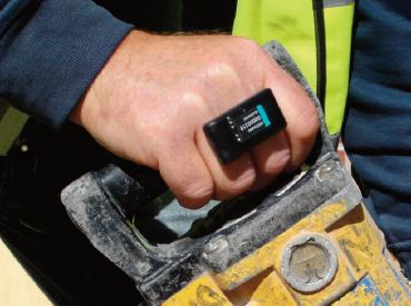 Hand-arm vibration dosimeter
